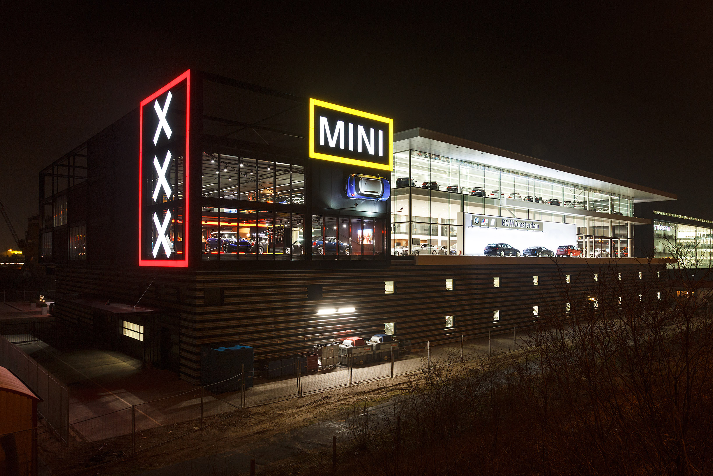 New Building For Bmw Mini Amsterdam Borghese
